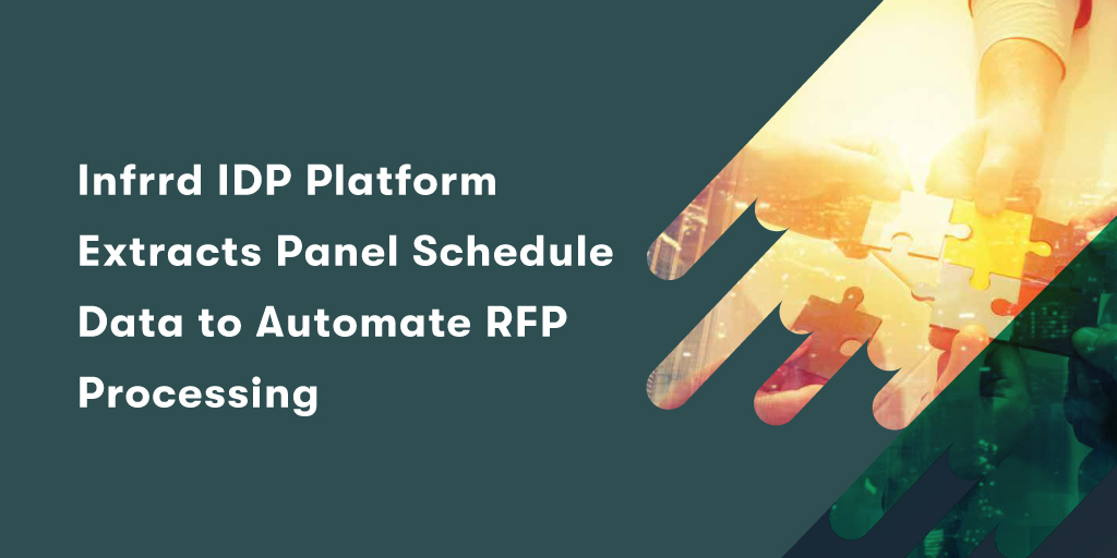 Infrrd-IDP-Platform--Extracts-Panel-Schedule--Data-to-Automate-RFP--Processing