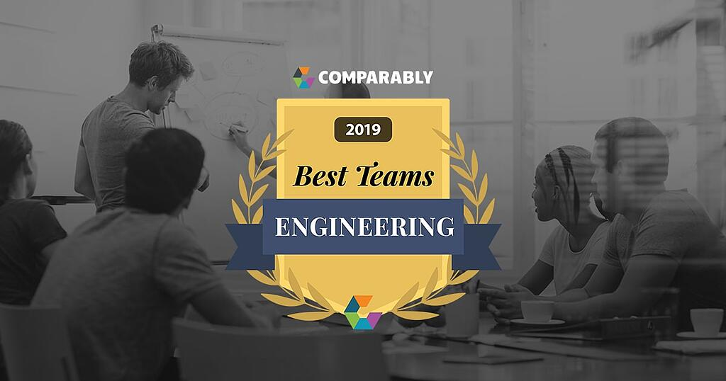 Comparably 2019 Best Engineering Team