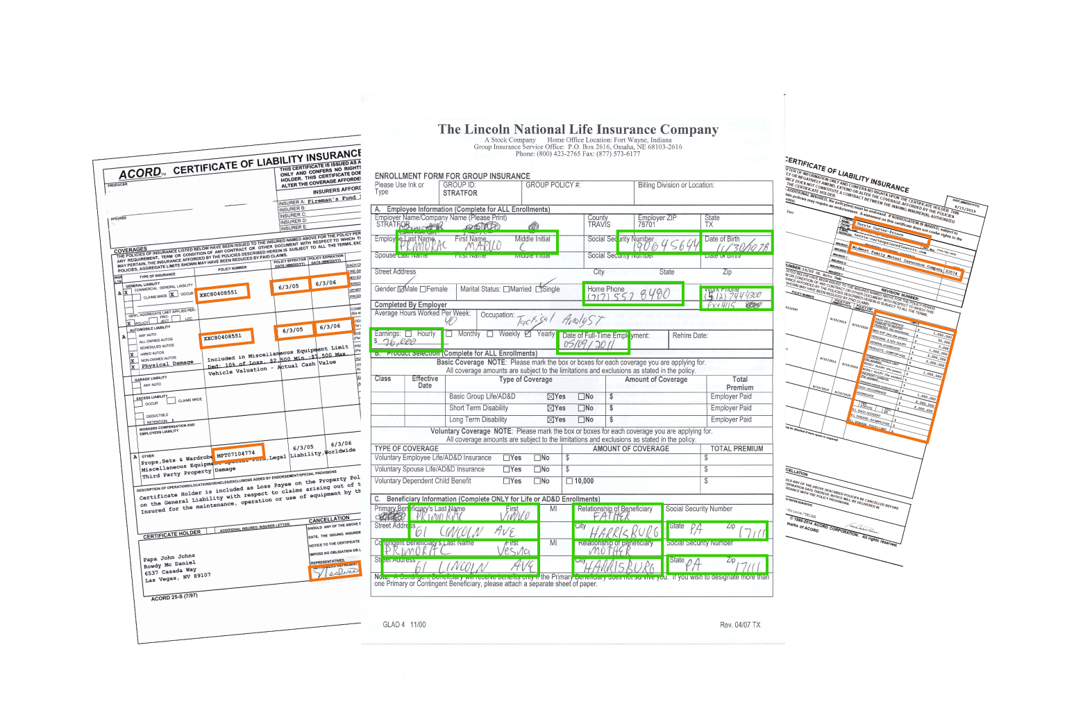 Faster insurance claims processing - classify and extract data from insurance claims