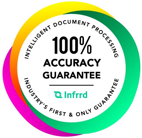 intelligent document processing IDP - 100% accuracy guarantee